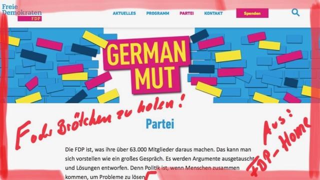 FDP seiht Probleme beim Brötchen-Kaufen