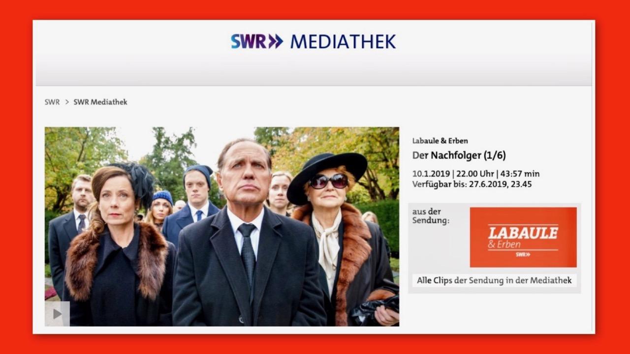 Labaule und Erben - eine irritierende TV-Serie der ARD