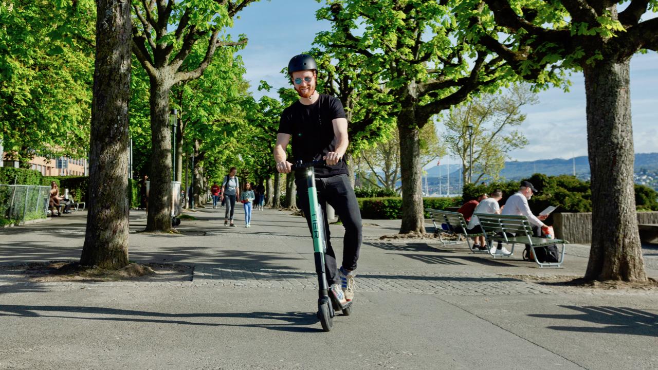 Roller-Raser werden zu einer Gefahr für Spaziergänger