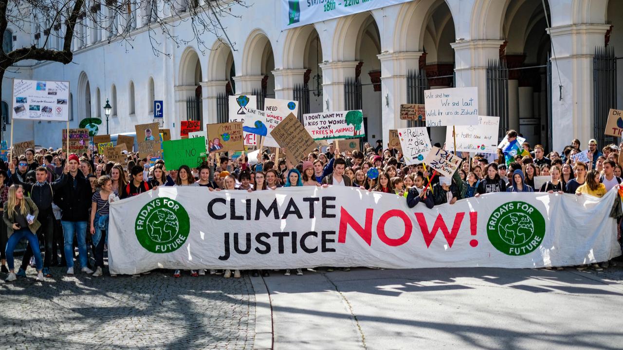 Demonstrieren fürs Klima