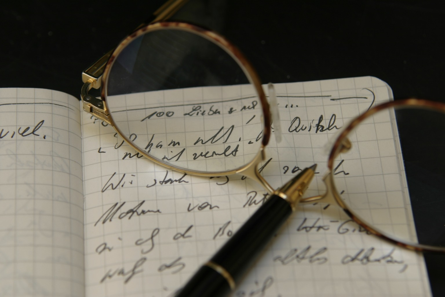 Website gestalten: Schreiben als Stilleben