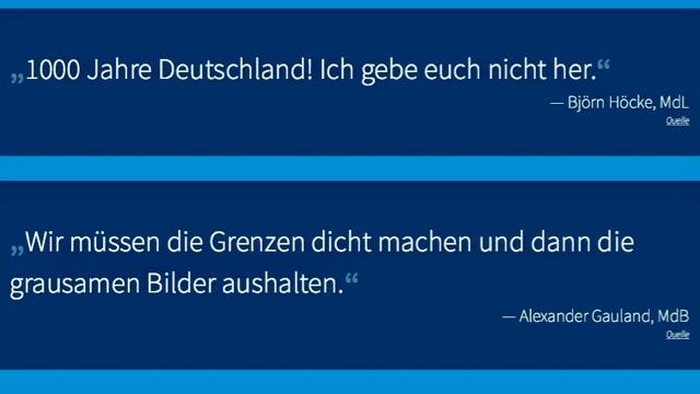 AfD Hetzer und Angsthasen