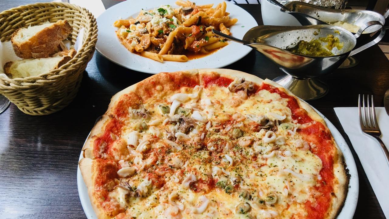 Lupo Trattoria in Düsseldorf - eine der besten Pizzerien in Deutschland