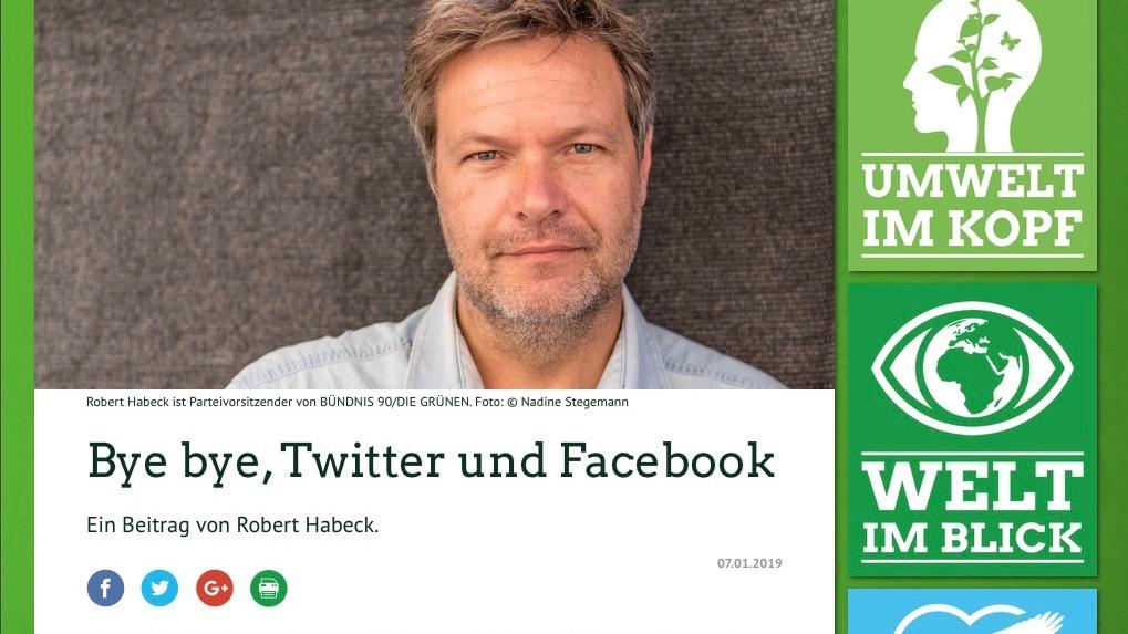 Stern-Kolumnist Jörges findet Habecks Ausstieg gut