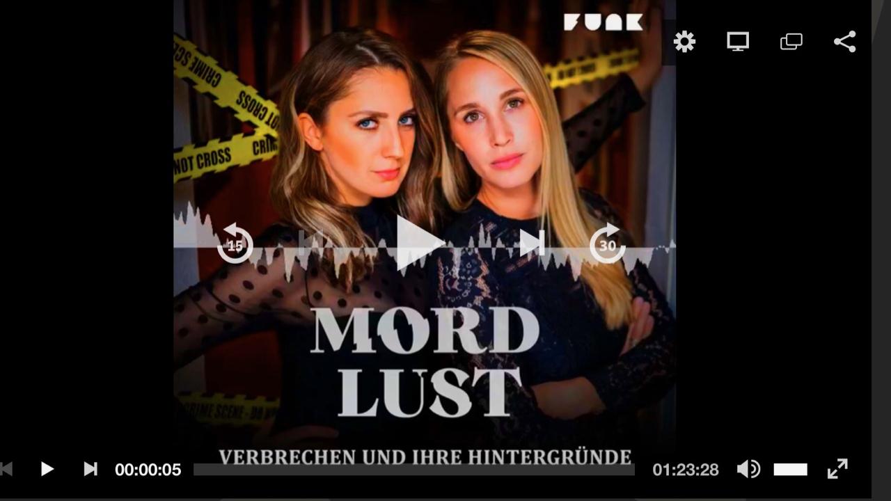 Ein spanender Podcast zu Kriminalfällen