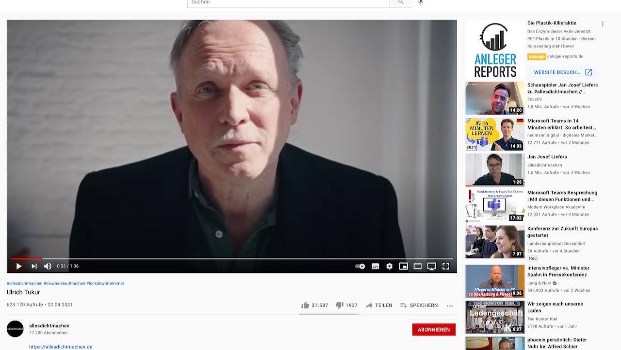 Ulrich Tukur und die Satire